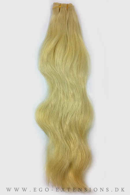 Blond Clip on extensions