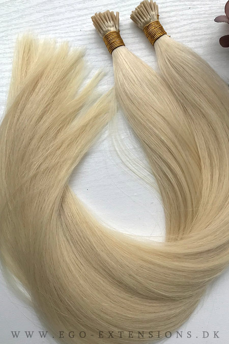 50 cm #60 lys blond cold fusion totter 50 stk.