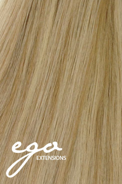 Varm blond piano Clip on extensions