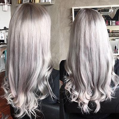 hårfarve til gråt hår