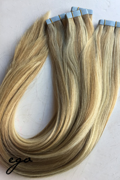 Kold blond piano mix 66 cm tape extensions