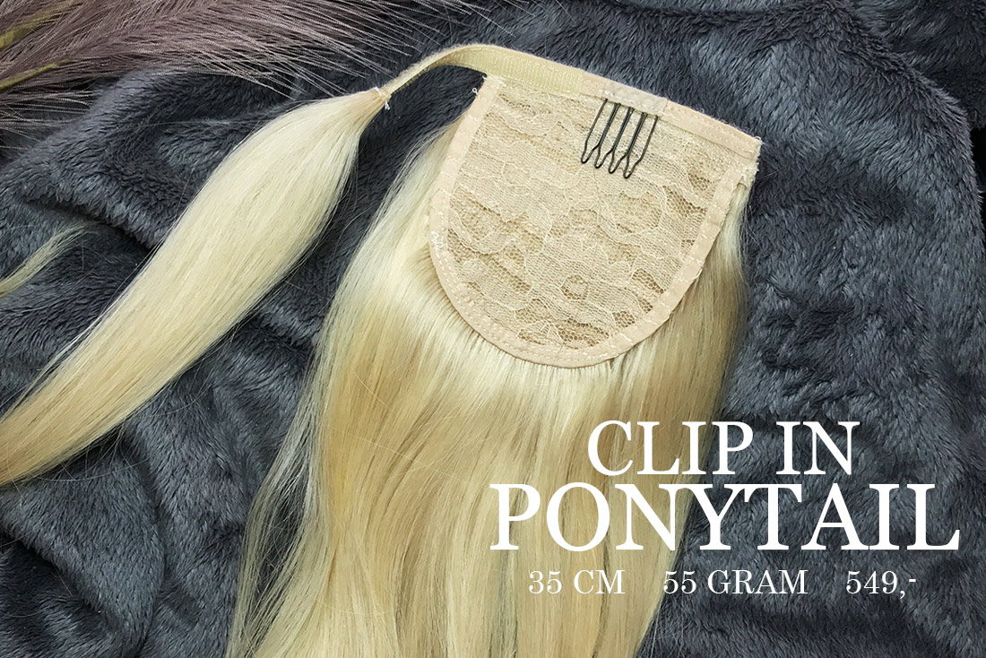 Clip in ponytail