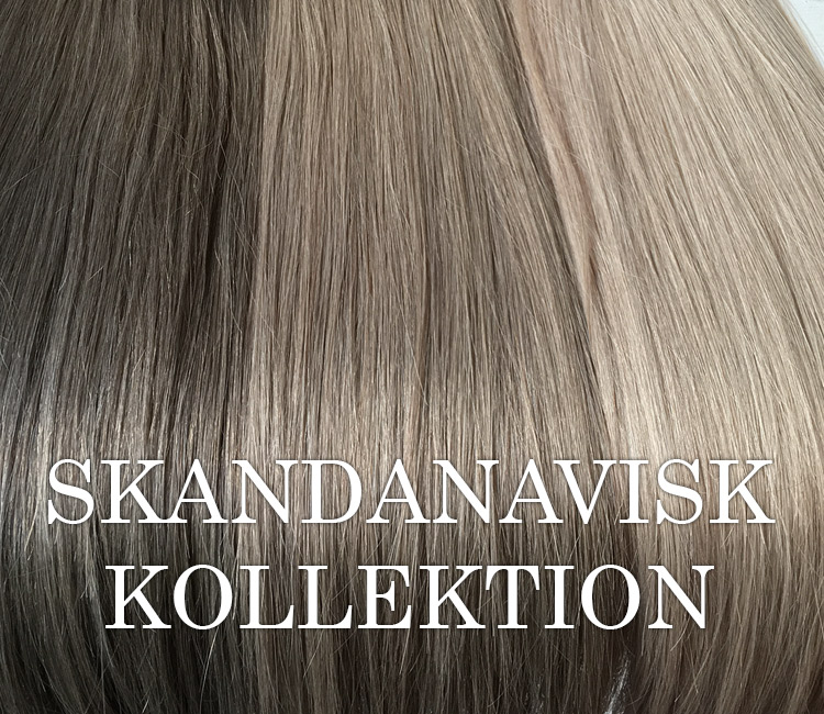 Silver ask hair extensions