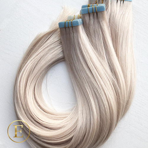 Silverblond Tape extensions