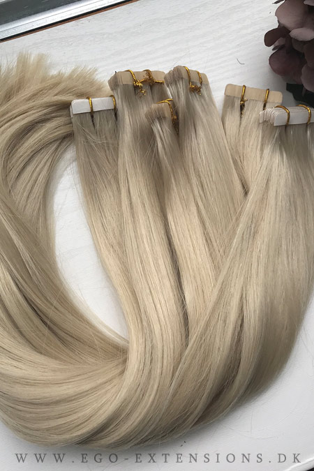 Blond Tape extensions
