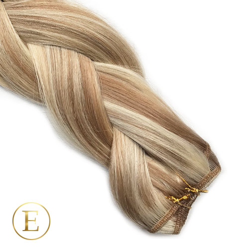 Naturlig blond mix Trenser