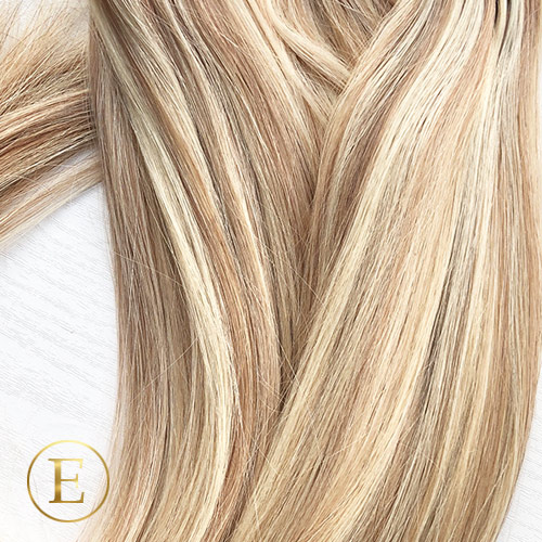 Naturlig blond mix Tape extensions