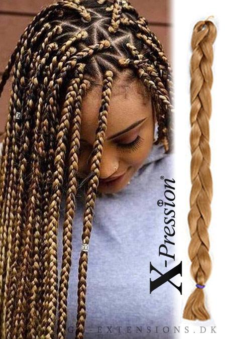 fletninger i håret